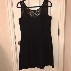Lilly Pulitzer Black Lace Dress SIZE L
